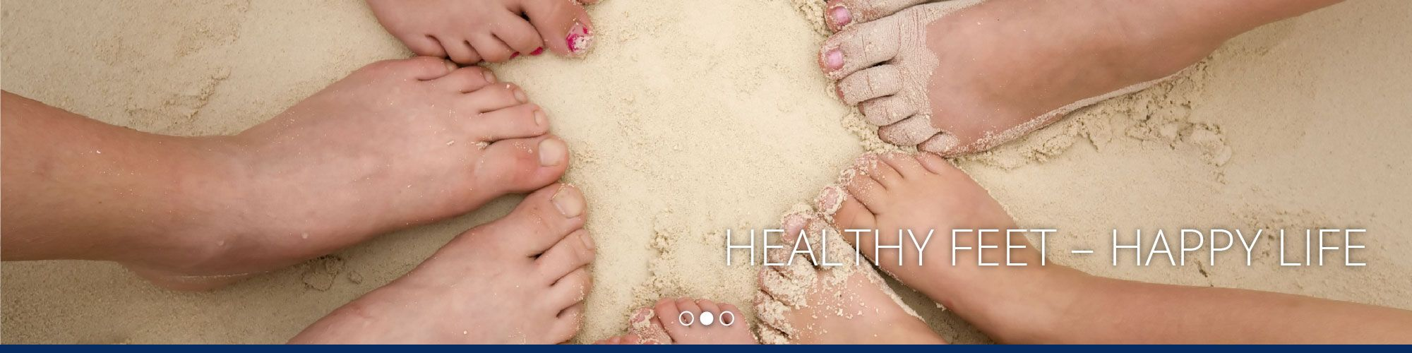 Healthy Feet – Happy Life | feet in sand