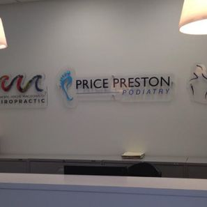 Price Preston Podiatry reception desk